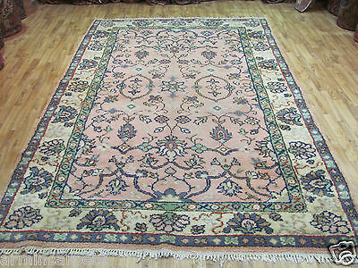 A LOVELY OLD HANDMADE MOROCCAN ORIENTAL RUG (295 x 192 cm)