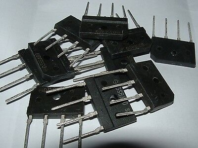 10 x D3SBA60 4A 600V bridge rectifier single in line D35BA60