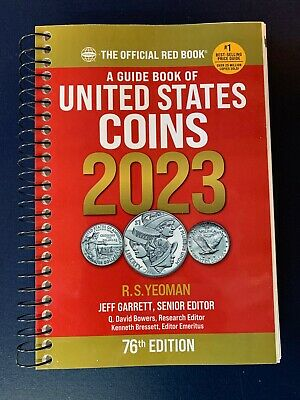 2019 Red Book Price Guide to U.S. Coins Spiral Bound, 72nd Edition, Yeoman