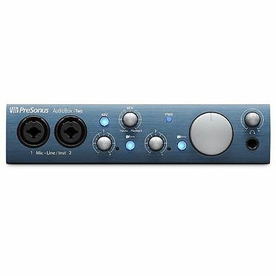 Presonus AudioBox iTwo Audio & MIDI Interface for PC Mac & iPad With Studio O...