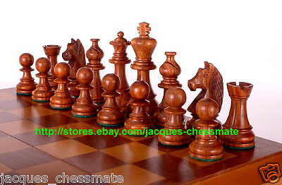 Handmade German Knights Staunton Sheesham Wood Chess Set - Free Shipping!!!!!