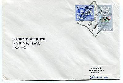 Nanisivik Mines Ltd XOA OXO Canada Polar Antarctic Cover
