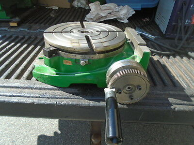 """MACHINIST TOOLS LATHE MILL Machinist Shars 9 3/4"""" Rotary Table"""