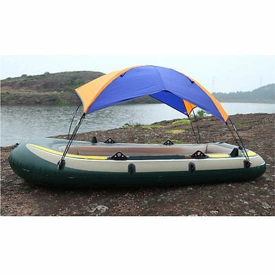 Docooler 2-person Inflatable Boat Sun Shelter Fishing Tent Rain Canopy for...