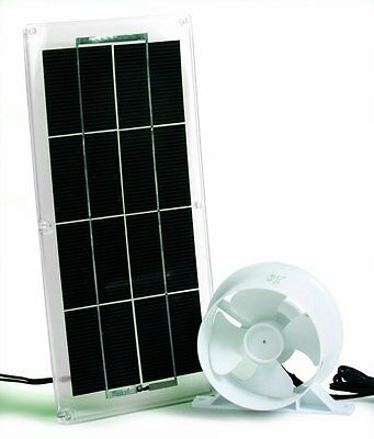 Camco 42162 RV Solar Panel and Fan for Refrigerator Vent