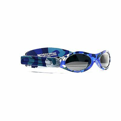Baby Banz Adventure Sunglasses, Nordic Camo, 0-2 Years, 1-Pack