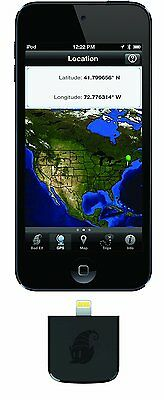 Bad Elf 1008 GPS High Performance GPS and Glonass Plugin for iPod Touch,...