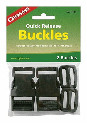 Coghlans 0180 1-Inch Quick Release Buckles