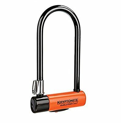 Kryptonite Evolution Series 4 LS Bicycle U-Lock with Transit FlexFrame...