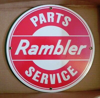 Porcelain Sign Rambler Parts &  Service