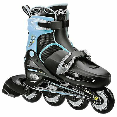 Roller Derby Boy's I-139BM Cobra Adjustable Inline Skate, Medium