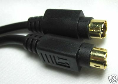 12 ft S-Video S Video S-VHS Cable Free Shipping Canada
