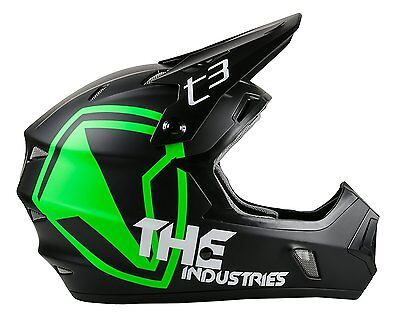 THE Industries Youth T3 Shield BMX and Mountain Bike Helmet,...
