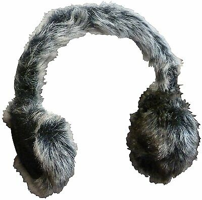N'Ice Caps Girls and Adults Faux Mink Trimmed Adjustable Ear Muffs...