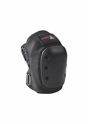 Triple Eight 60102 KP Pro Knee Pads, Black, Medium