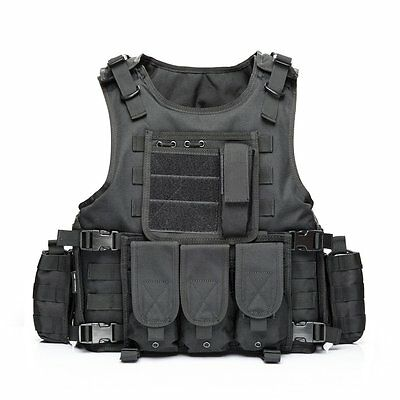YAKEDA Tactical Vest Outdoor Equipment Army fans field tactical vests for...