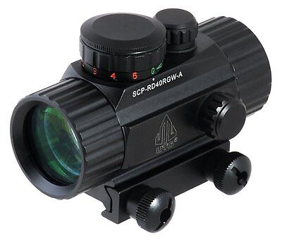 Leapers UTG New Gen 4-Inch Red/Green Dot Sight with Integral Picatinny...