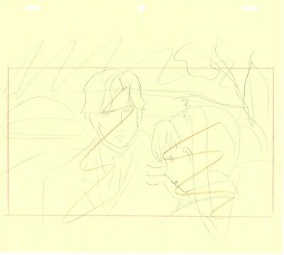 Anime Genga not Cel Gunslinger Girl 3 pages #5