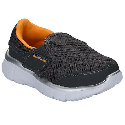 Infant Boys Skechers Equaliser Persistant Trainers In Charcoal