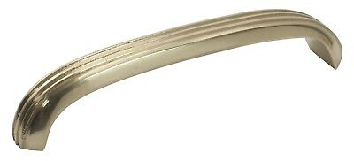 Tradco 3444PB Deco Pull Handle Polished Brass 125x20mm