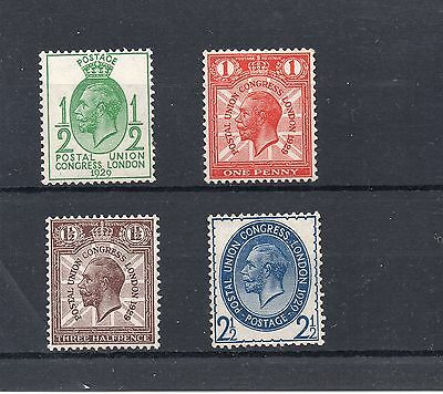 1929  PUC  Stamps Set 4v UNMOUNTED MINT SG434-4371George V Ref:X416