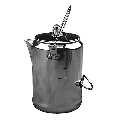 The Coleman Company 9-Cup Aluminum Coffee Pot
