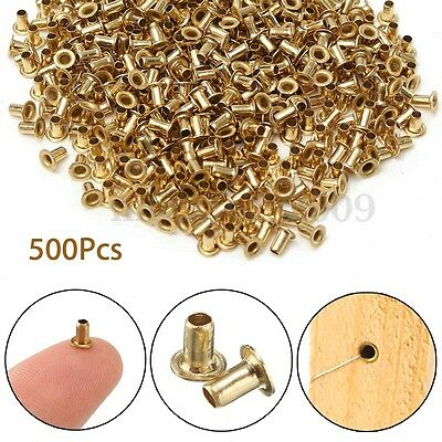 500Pcs Beekeeping Brass Eyelets Set Copper Cap For Bee Brood Box Frame Hive Tool
