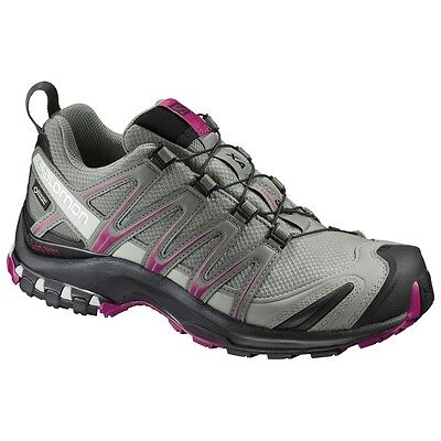 TRAIL RUNNING shoes Women's SALOMON XA PRO 3D GTX W woman Shadow
