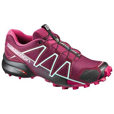 TRAIL RUNNING shoes Women's SALOMON SPEEDCROSS 4 W Tibetan Red