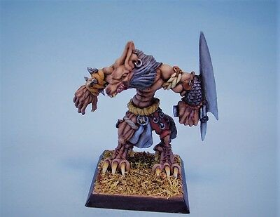Confrontation painted miniature Wolfen Warrior