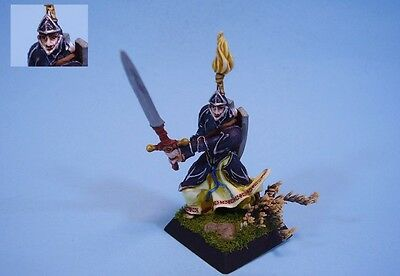 Confrontation painted miniature Alahan Swordsman