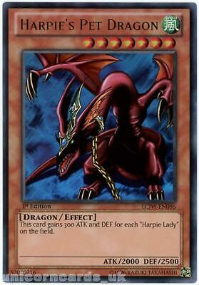LCJW-EN086 Harpie's Pet Dragon Ultra Rare 1st Edition Mint YuGiOh Card