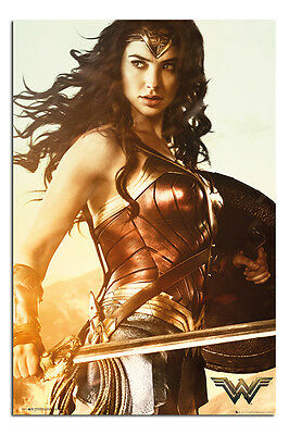 Wonder Woman Sword Poster New - Maxi Size 36 x 24 Inch