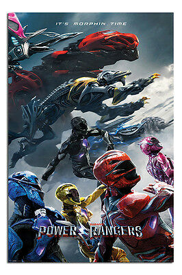 Power Rangers Charge Poster New - Maxi Size 36 x 24 Inch