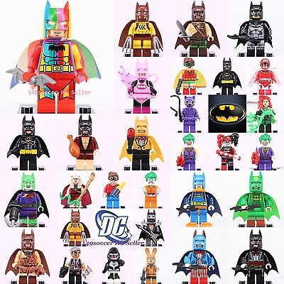 2017 ALL Superheroes THE LEGO Batman Movie Joke Robin Figure Fits Lego toys