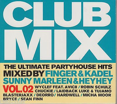 Clubmix Vol. 2 - Ultimate Partyhouse Hits - Finger & Kadel ...(3 CDs, NEU! OVP)