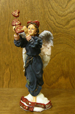 Boyds Folkstones Angel #28208 ISABELLA...FOLLOW YOUR HEART'S DESIRE LE Dealers