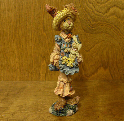 Boyds Folkstone #2847 PRUDENCE...DAFFODILS, NIB Rabbit From our Retail Store