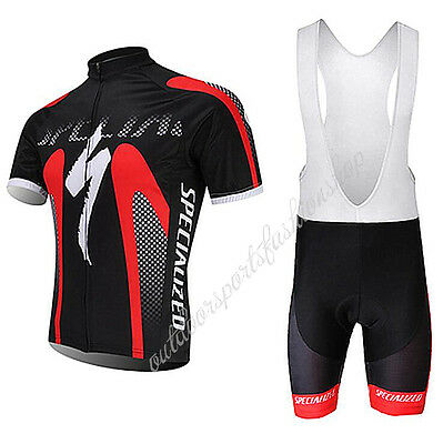 2017 HOT New Mens Sports Bike Cycling Jersey Bib Shorts Suits Bicycle Clothing