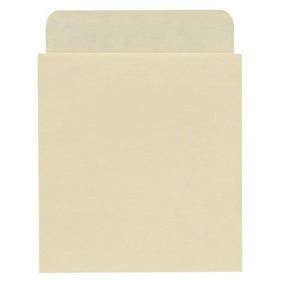 Self Adhesive Peel and Stick Book Pockets, Deep Low Back - 100/Pkg