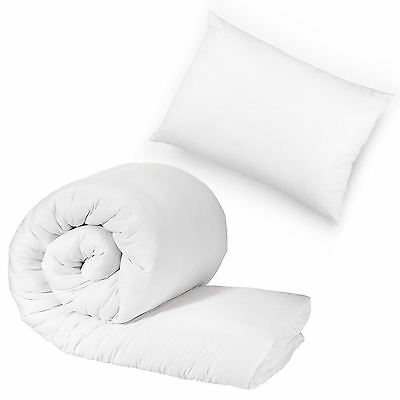 Anti-Allergy Toddlers Baby Cot 4.5 Tog Duvet Quilt & Pillow Cosy Warm & Soft