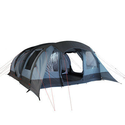 10T Kallisto 6 AIR - inflatable 6-person airtube tunnel tent, 5000 mm, sewn in g