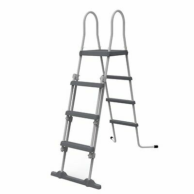 Jilong Safety Pool Ladder - 4-level pool ladder for pool wall heights of up to 1