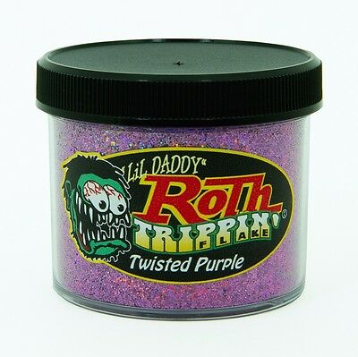 Lil' Daddy Roth Metal Flake Trippin' Twisted Purple