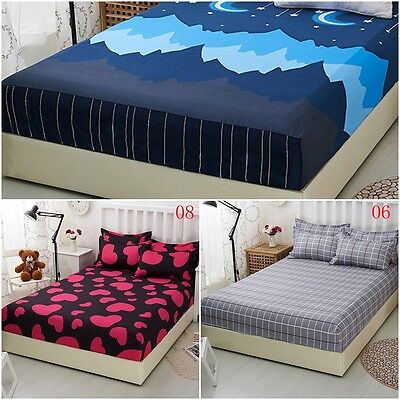 Dust Useful Bed Mattress Pad Protector Bed Sheet Bedspread Cover 1.2/1.5/1.8M G