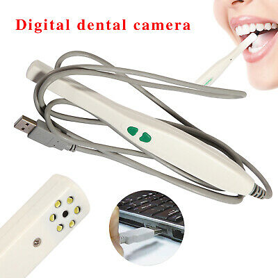 1X Dental Intraoral Camera USB SONY CCD 6 LED Lamp Auto-focus MD740 USB-P Images