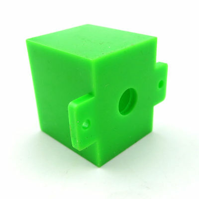 10Pcs Green Plastic Motor Bracket Toy Fastener For 130 Motor Toy Car Accessories