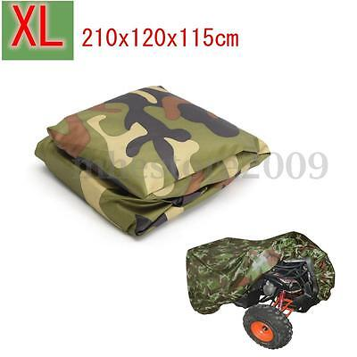 XL 190T ATV Cover Camouflage Waterproof Quad Scooter Motorbike Universal NEW
