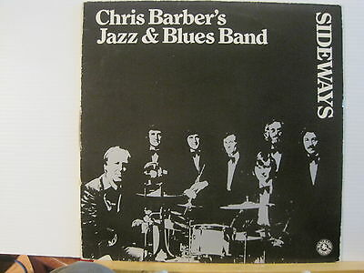 Chris Barber's Jazz & Blues Band-Sideways- Vinyl lp-Free UK Post