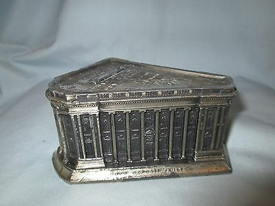 Souvenir Metal Lead Building Second Ward Savings Bank Milwaukee Rehberger Mfg